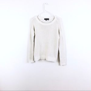 Theory Karenia T Cotton Knit Pullover Sweater